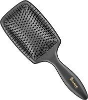 Altesse Rubber Cushion Paddle Brush 45510 Black / 13 Rows L256