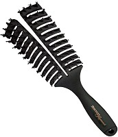 Hercules Sägemann Curved Vent Brush 8-Rows, 70 mm, No. 9144