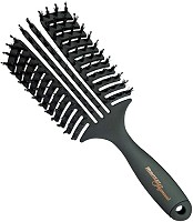 Hercules Sägemann Curved Vent Brush 10-Rows, 90 mm, No. 9145