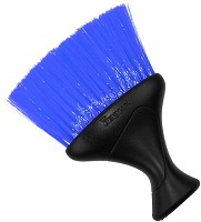 Denman Neck Duster D78 Black with blue bristles