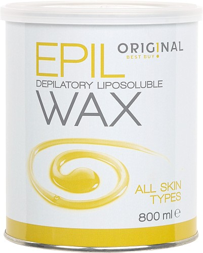 Original Best Buy Warm Wax Orig!nal Depilatory Liposoluble Wax yellow 800 ml