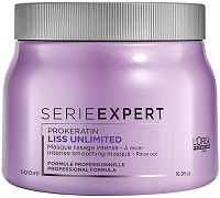 Loreal Serie Expert Liss Unlimited Masque 500 ml