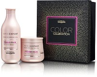 Loreal Gift Set Serie Expert Vitamino Color AOX 550 ml