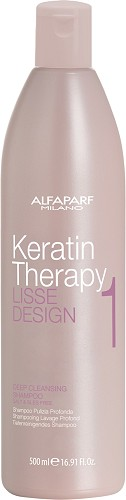 Alfaparf Lisse Design Keratin Therapy Deep Cleansing Shampoo