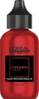Loreal Colorfulhair Flash Pro Hair Red Hot 60 ml