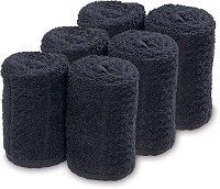 Barburys Take Care Facial Towels 6 pieces / Black